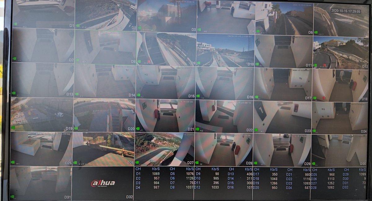 CCTV y alarmas