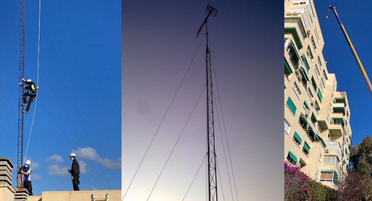 Torretas y trabajos en altura
